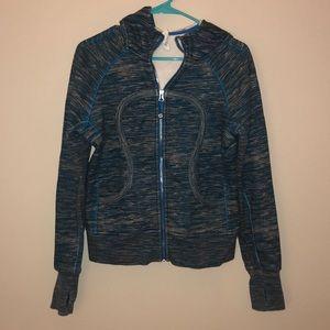 Lululemon Scuba Hoodie Jacket Size 8 VGUC